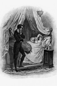 """Illustrazione de """"La pelle di zigrino"""" di Honorè de Balzac"""