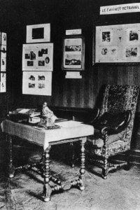 Lo studio del romanziere francese Honoré De Balzac, a Parigi