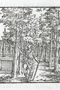 Aminta di Tasso, 1573. Prologo, Amore in abiti da pastore