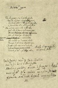 Versi di Torquato Tasso