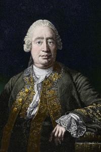 David Hume, filosofo scozzese (1711 - 1776)