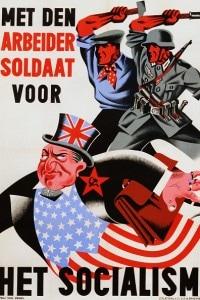 Il socialismo: poster di Vrij van Zegel