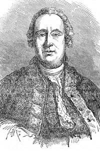 David Hume, un disegno a matita