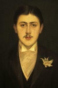 Ritratto di Marcel Proust: dipinto di Jacques Emile Blanche