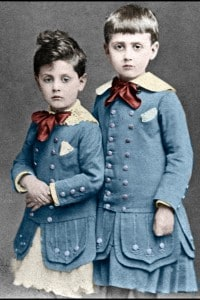 Robert e Marcel Proust, 1877.
