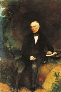William Wordsworth. Olio su tela di William Pickersgill
