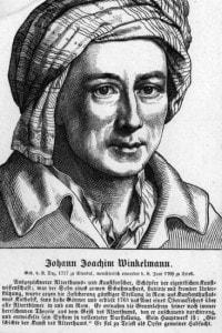 Winckelmann (1717 - 1768): archeologo tedesco che ha esaminato i resti di molti siti antichi, tra questi anche Pompei