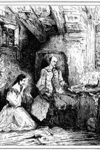 Eugénie Grandet: illustrazione per il romanzo di Honorè de Balzac