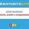 Materie seconda prova Liceo Musicale