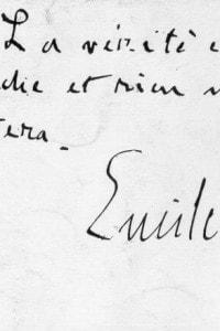 """""""La verità è in marcia e nulla la fermerà"""": una dichiarazione fatta da Emile Zola (1840 - 1902) durante il caso Dreyfus, 1894"""