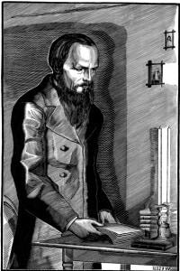 Dostoevskij: considerato una delle grandi figure della letteratura russa