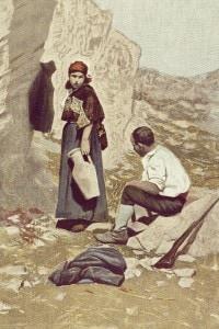 L'amante di Gramigna di Verga. Illustrazione