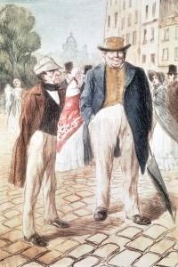 Bouvard e Pécuchet: illustrazione per la prima edizione del romanzo di Flaubert