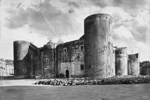 Castello Ursino a Catania fatto costruire da Federico II