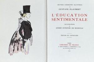 Educazione sentimentale: copertina di un'edizione del 1922
