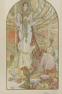 Salammbô di Alfons Mucha (1860-1939): pittore e scultore greco