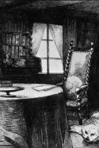 Studio di Flaubert, a Croisset