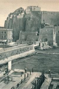Castel dell'Ovo, Napoli. Fu costruito nel XII secolo dai Normanni
