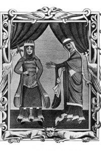 Costume normanno, inizio XII secolo