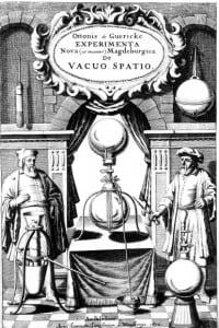Emisferi di Magdeburgo: esperimento di Otto von Guericke, noto per aver costruito la prima pompa a vuoto