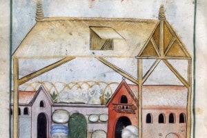 Illustrazione sul Medioevo