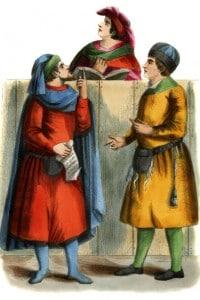 Mercanti italiani del XIV secolo