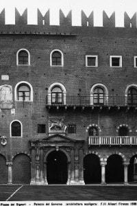 Il Palazzo del Podestà in piazza dei Signori a Verona