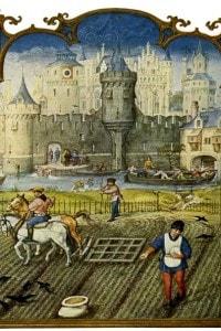 Vita in campagna nel medioevo
