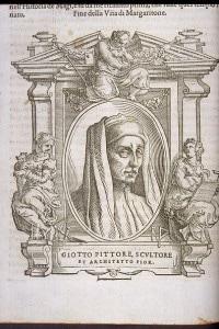 """Giotto, dalle """"Vite de' più eccellenti pittori, scultori ed architettori"""" di G. Vasari"""