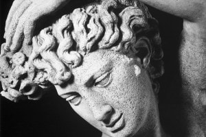 Narciso di Benvenuto Cellini, particolare