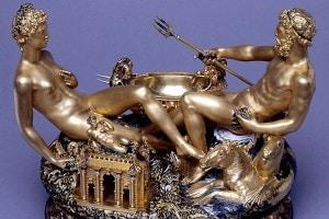 Saliera di Francesco I di Francia: capolavoro di Benvenuto Cellini
