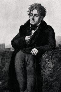 Ritratto di Chateaubriand. Dipinto di Girodet
