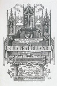 Genio del Cristianesimo di Chateaubriand, edizione del 1838
