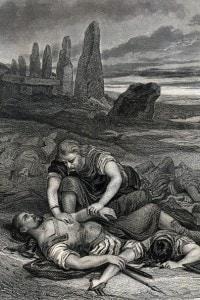 """Illustrazione del romanzo """"I Martiri"""" di Chateaubriand"""