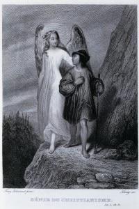 """Illustrazione per il romanzo """"Il Genio del Cristianesimo"""" di Chateaubriand"""
