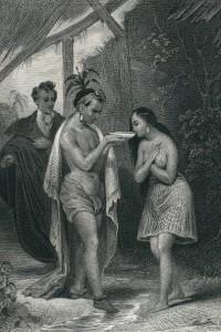 Les Natchez di Chateaubriand: illustrazione