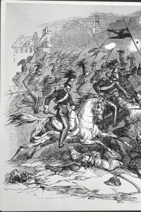 Moti rivoluzionari a Berlino nel 1848