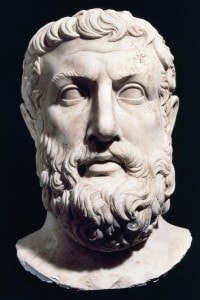 Busto di Parmenide di Elea