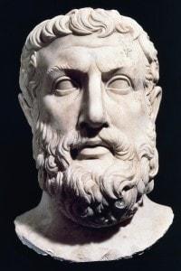 Busto di Parmenide