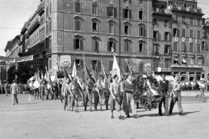 manifestazione a Trieste per richiamare l'attenzione sulle sorti politiche della città