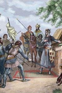 Il giorno prima della battaglia di Las Navas de Tolosa (1212) in cui Alfonso VIII sconfisse l'esercito almohade di Muhammad al-Nasir