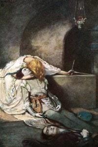Romeo e Giulietta, scena n. 3: la morte di Romeo.