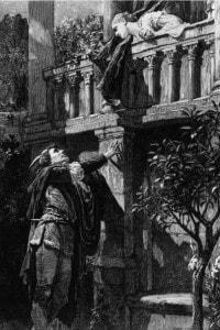 Romeo e Giulietta di Shakespeare: la scena del balcone