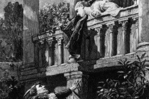 Scena del balcone di Romeo e Giulietta: traduzione