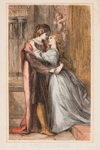 Romeo e Giulietta: incizione del 1870