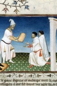 Cina medievale: Kublai Khan consegna il passaporto a Marco Polo