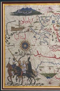 Cartografia di fine XVI secolo: Maghreb e Medio Oriente