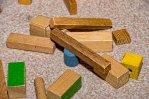 Blocchetti di legno di Frobel