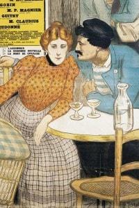 L'Ammazzatoio di Emile Zola, 1900: locandina per la rappresentazione teatrale al Teatro Porte Saint-Martin