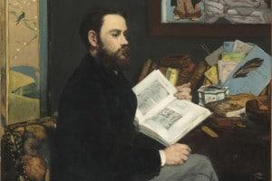 Émile Zola, uno dei protagonisti del naturalismo francese